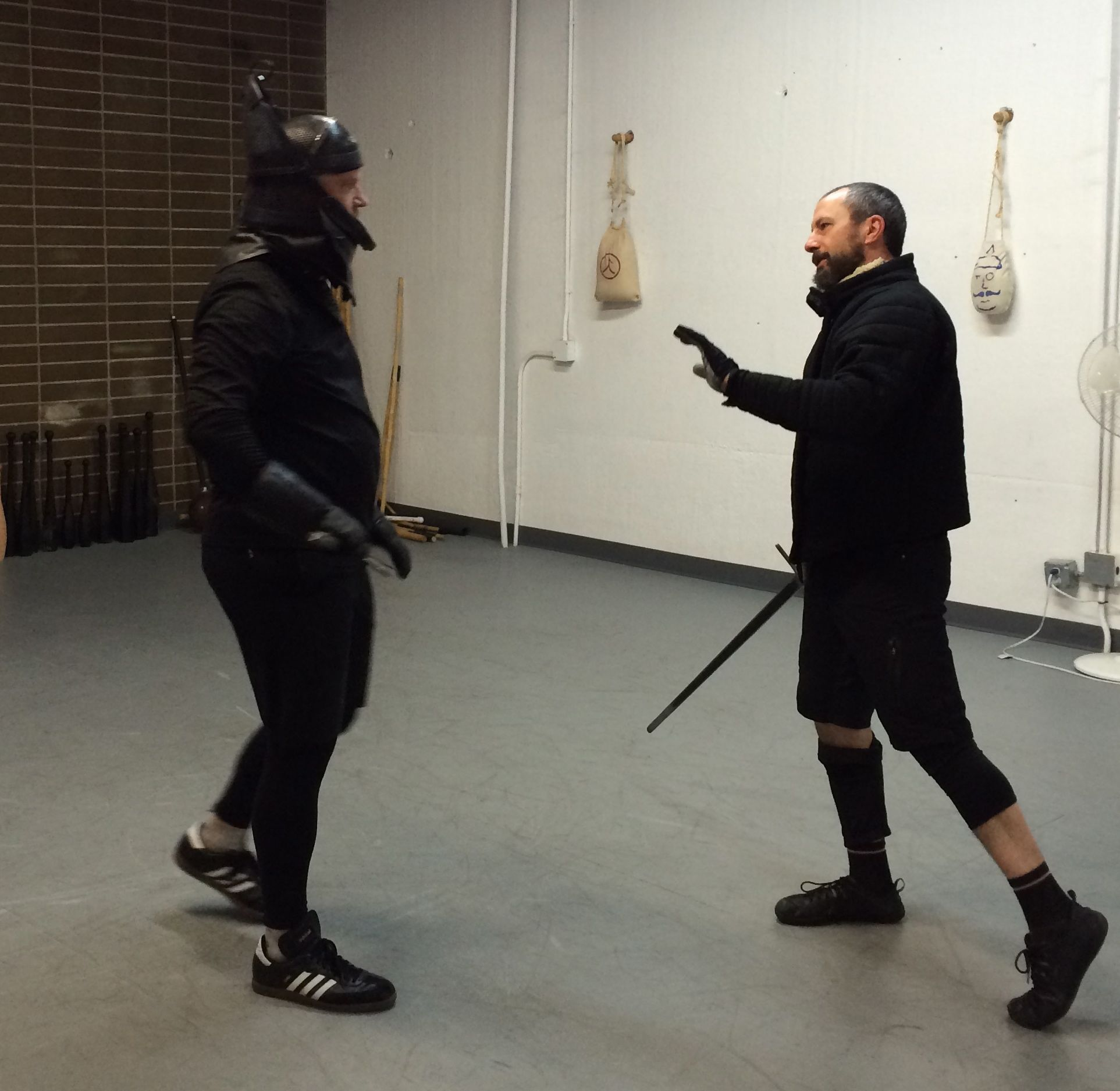 Longsword coaching