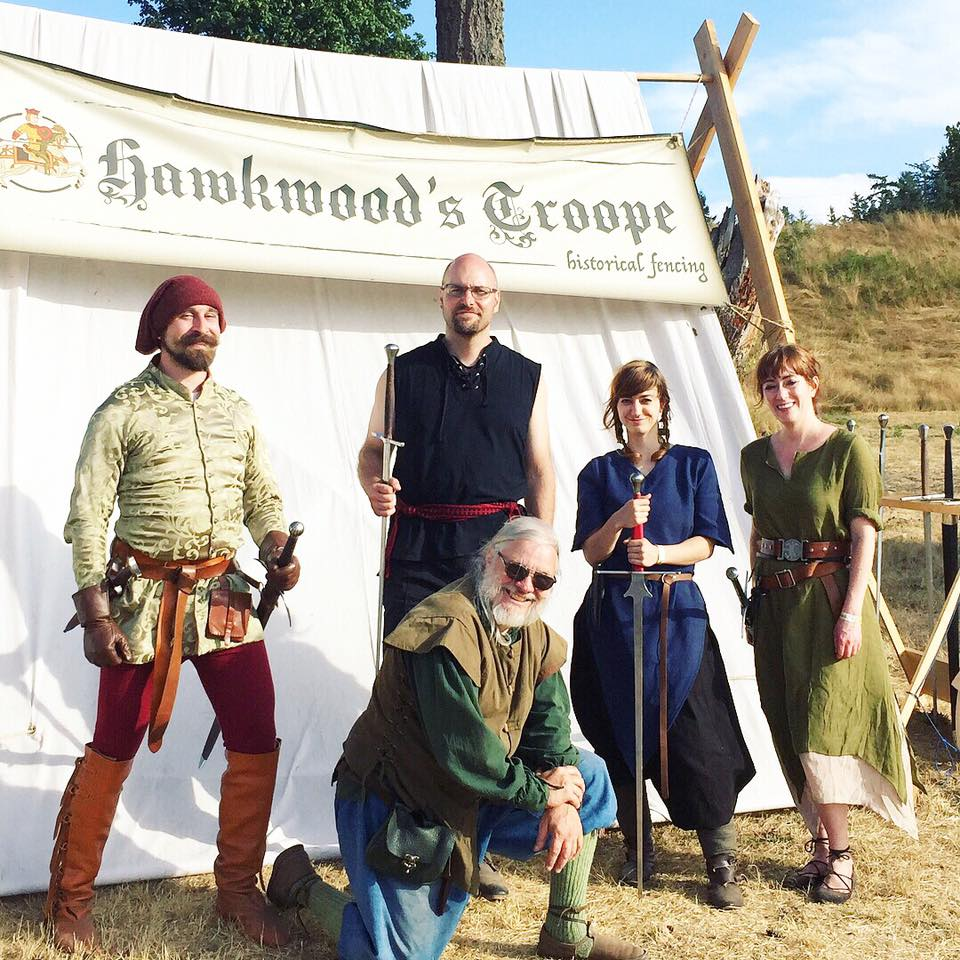 Sword demos at the WA Midsummer Renaissance Faire